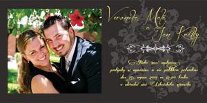 Svatební oznámení SFOT2