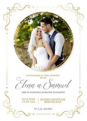 Svatební oznámení SFOT21