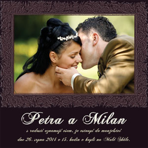Svatební oznámení SFOT23