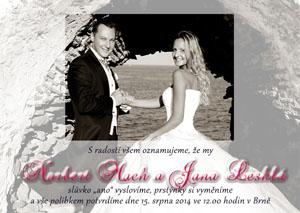 Svatební oznámení SFOT25