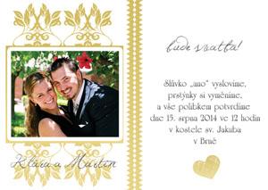 Svatební oznámení SFOT3