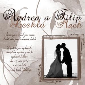 Svatební oznámení SFOT30