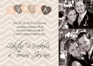 Svatební oznámení SFOT32