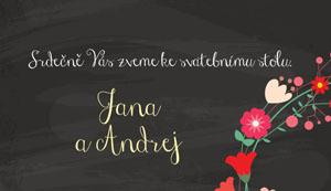 Svatební oznámení SFOT34