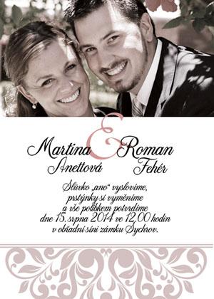 Svatební oznámení SFOT37