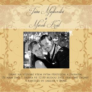 Svatební oznámení SFOT9