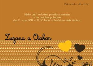 Svatební oznámení SNAP6