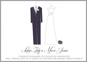 Svatební oznámení SSO22