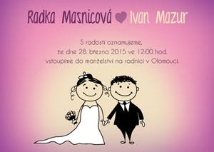 Svatební oznámení SSO24
