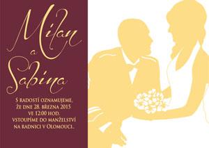 Svatební oznámení SSO26