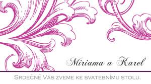Svatební oznámení SSO30