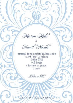 Svatební oznámení SSO34