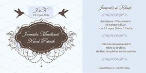 Svatební oznámení SSO43