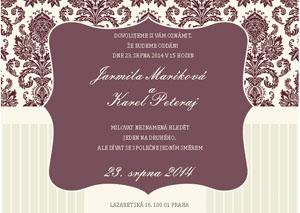 Svatební oznámení SSO44