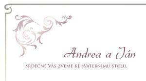 Svatební oznámení SSO50