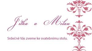 Svatební oznámení SSO52