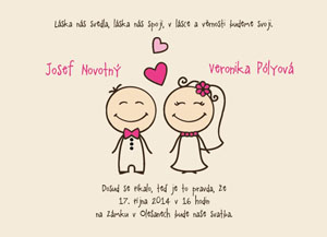 Svatební oznámení SSO54