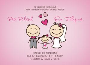 Svatební oznámení SSO55