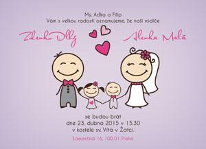 Svatební oznámení SSO61