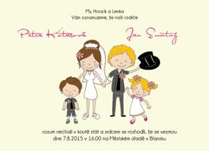 Svatební oznámení SSO64