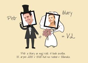 Svatební oznámení SSO65